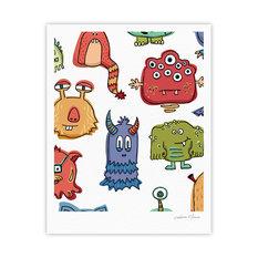 """Brienne Jepkema """"Little Monsters"""" Art Print"""