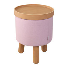 Molde Stool, Small, Rose