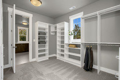 Although We Have Never Put A Washer And Dryer In The Master Closet Many Home Designs Where Laundry Room Is Off