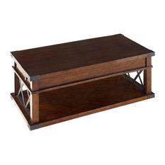 Progressive Furniture - Landmark Castered Cocktail Table - Coffee Tables