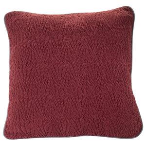 Southall Bedspread, Maroon, Cushion 50x50 cm