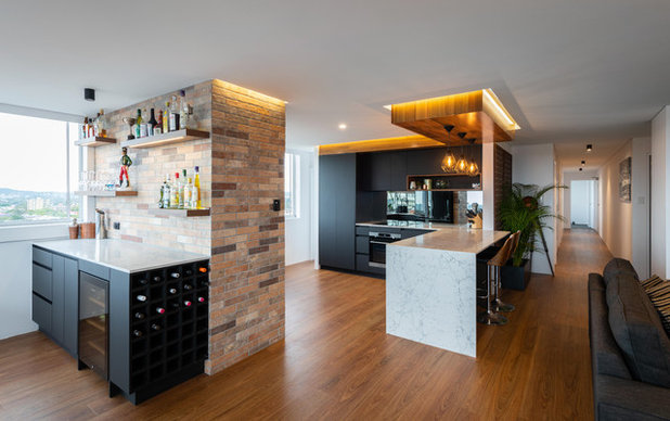 Industrial  by Kitchens by Kathie