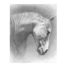 """""""Equine Grace I"""" Fine Art Piece"""