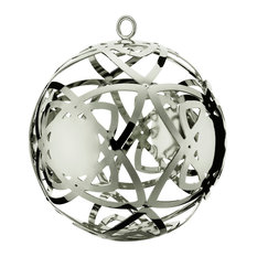 """Talestri """"Elegant and Smooth"""" Bauble, Silver, Large"""