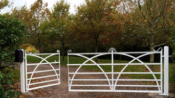 traditional iron gates