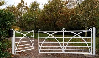 traditional iron gates