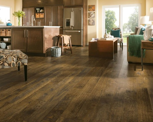 Armstrong Rustics Premium Laminate Flooring - Forestry Mix Brown Wash - Laminate  Flooring