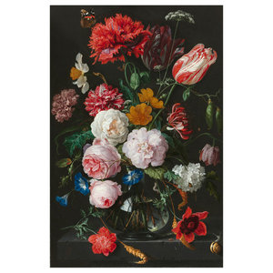 Still Life With Flowers Wall Art, 120x180 cm