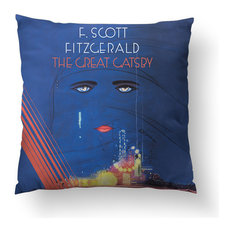"Great Gatsby Throw Pillow, 26""x26"", Pillow Cover Only"