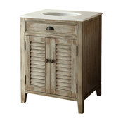 "26"" Cottage Look Abbeville Bathroom Sink Vanity Model Cf28323"