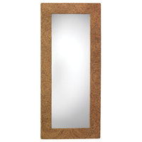 Harbor Floor Mirror, Seagrass