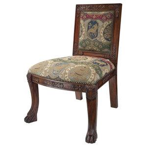 Beardsley Lion Side Chair, Charles Fabr