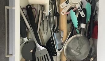 Kitchen Drawer Organising