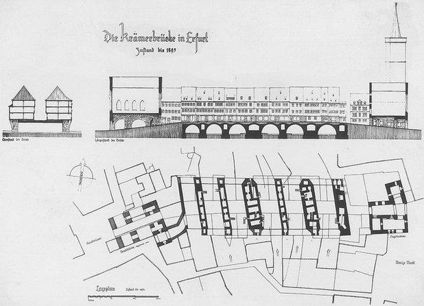 My houzz la magia di vivere su un ponte della germania for Portico e design del ponte