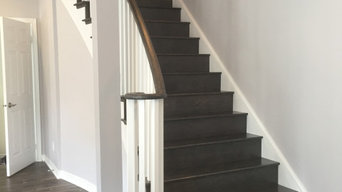 Hardwood Flooring and stairs