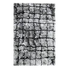 Dynamic Rugs Inc. - Dynamic Rugs Loft 3102 Area Rug, Gray/Silver, 10'x14' - Area Rugs