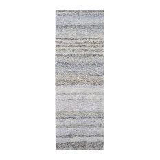 Surya - Surya Zola 9'x13' Hand Hooked Wool Rug, Blue - Area Rugs