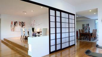 Shoji Room Dividers: Multiple Stacking Sliding Doors