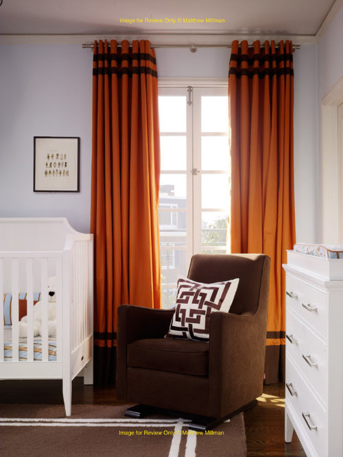 Brown And Orange Curtains Ideas, Pictures, Remodel and Decor