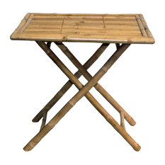 Bamboo Round Square Table