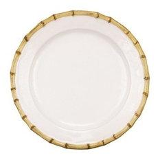 Juliska Classic Bamboo Natural Dinner Plate
