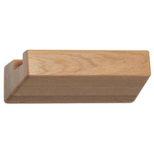 Vij5 Oak LookShelf, Oak, Small