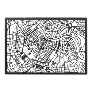 3-D Map of Vienna, Black