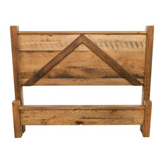 Foxfield Reclaimed Wood Queen Bed Frame