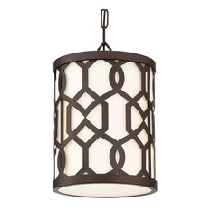 Libby Langdon for Crystorama Jennings Outdoor 1-Light Chandelier