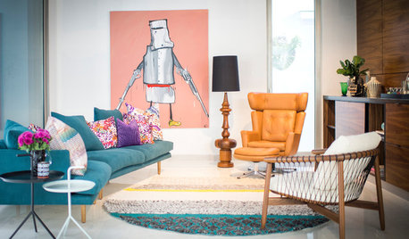 Houzz Tour: Punchy Patterns & Bold Colours Find a Home in Sydney