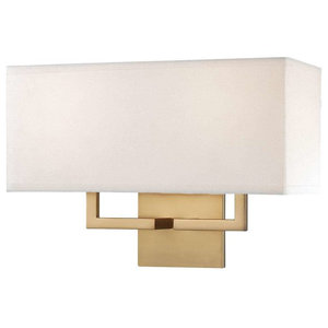Signature 2 Light Wall Sconce in Honey Gold