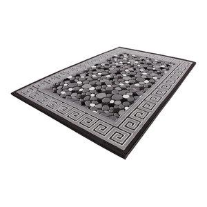 Turkey Izmir Runner, Grey, 80x300 cm
