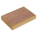 Household Essentials - Closet Cedar Blocks, Set of 4 - Protect your clothes from moths, mildew and mustiness with this Set of 4 Cedar Wood Blocks. These cedar wood blocks are 2.75 inches by 1.75 inches by .5 inches making them the ideal size for storage anywhere. Protect your linen closets, storage bins, dresser drawers or closet shelves with these cedar blocks, natural cloth protectors. In addition to protecting your items from harm, these cedar blocks for storage will leave your clothing smelling fresh and clean. The blocks can be renewed by lightly sanding to bring out the cedar smell every 6 to 12 months.