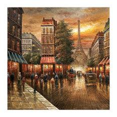 Paris Nights   Wall Art, Canvas Wrap