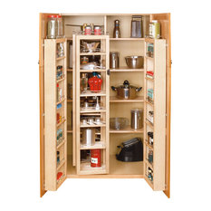 """45"""" Swing Out Pantry Kit Maple"""