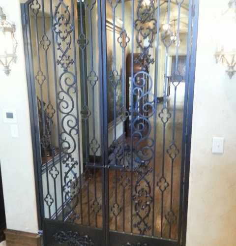 wrought iron interior gates luxush 228 user einblick ins bill gates haus