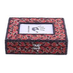 Mosaic Magnificence Glass Mosaic Decorative Box