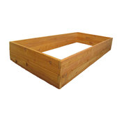"Raised Bed Garden Kit 3'x6'x11"", Premium Cedar"