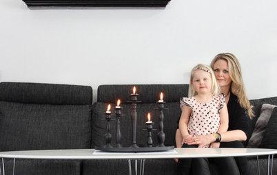 Houzz Tour: Familjen skapade sitt drömhem i Karlsborg