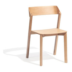 Merano Natural Oak Stackable Dining Chair by Alex Gufler for TON - Dining Chairs  sc 1 st  Houzz & 50 Most Popular Scandinavian Dining Chairs: Find Dining Chairs ...