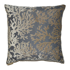 St. Tropez Wheat Feather Down Decorative Throw Pillow, 20x20