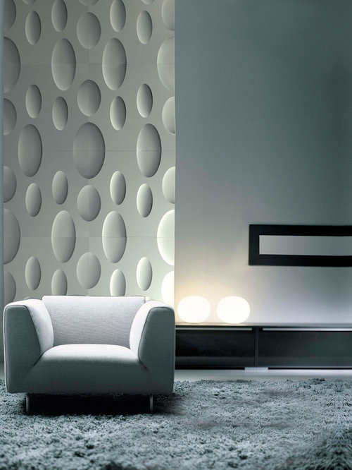 Moon 3D Decorative Plaster Wall Panels   Wall Panels