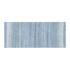 """Gradiation Bath Rug, 21""""x54"""", Blue"""