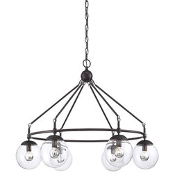 Epic Transitional Chandeliers by ALCOVE LIGHTING