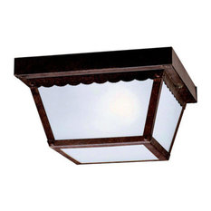 Kichler 345 2 Light Outdoor Ceiling Fixture - Bronze