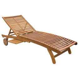 Contemporary Outdoor Chaise Lounges by International Caravan