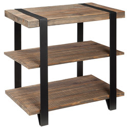 Industrial Side Tables And End Tables by ShopFreely