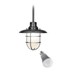 Design Classics Lighting - Nautical Mini-Pendant with LED Bulb - 812-09/