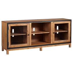 Industrial Entertainment Centers And Tv Stands by Progressive Furniture