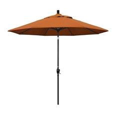9' Pacific Trail Series Patio Umbrella With Sunbrella 2A Tuscan Fabric